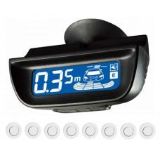 Парктроник передний+задний Parkmaster 8-DJ-29 (белый)