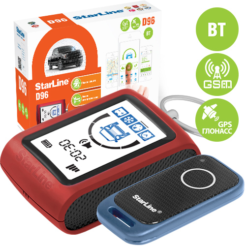 StarLine D96 BT 2CAN+2LIN GSM GPS