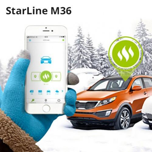 GSM-модуль управления Webasto StarLine M36